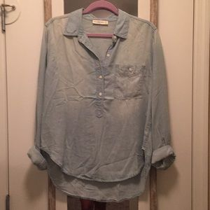 Abercrombie & Fitch chambray top
